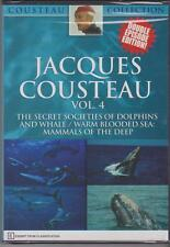JACQUES COUSTEAU - VOL. 4 - THE SECRET SOCIETIES OF DOLPHINS - DVD
