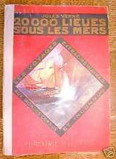 20000 LIEUES SOUS LES MERS Jules Verne - Hachette 1923