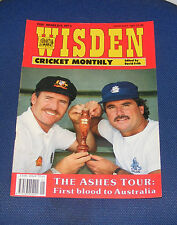 WISDEN CRICKET MONTHLY JANUARY 1991 - THE ASHES TOUR: FIRST BLOOD TO AUSTRALIA