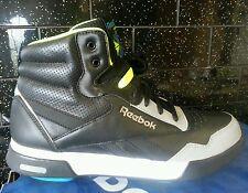 Reebok Easytone High Top BOOTS Leather Womens Rockeasy Black V58633 3.5 5.5 6 UK 5