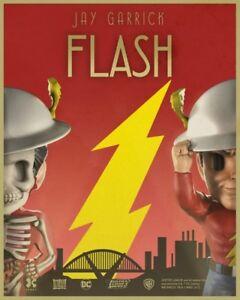 "Mighty Jaxx XXRAY DC Comics Golden Age: 4"" The Flash Worldwide Free S/H"