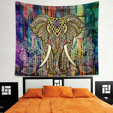 Psychedelic Wall Hanging Elephant Tapestry Bohemian Tapestries Blanket Beach