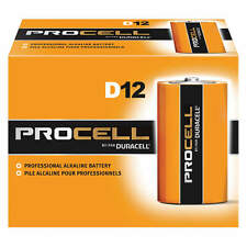 DURACELL D Batteries Pro Cell Hobby Power Big Helpers 1.5v  12pc in a pack