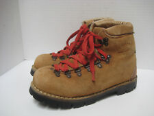 Vtg KINNEY Shoes COLORADO Mountaineering Hiking LEATHER BOOTS Men 5D/Women 6.5M