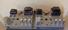 Pair of Magnavox Mono Tube Power Amplifiers - AMP-150 - 6V6, 12AT7, 6AT6, 5U4