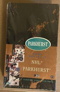 1991/92 PARKHURST Series 1 Hockey BOX!  English/Sealed/Gretzky