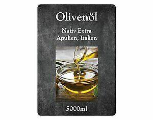 *AKTION* Olivenöl Extra Nativ Apulien Italien 2 mal 5 Liter Kanister