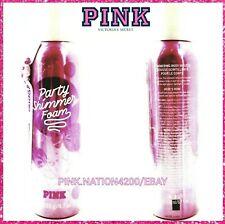 Victoria's Secret PINK PARTY Shimmer Foam Coco Oil Shimmering Body MOUSSE 4.7oz
