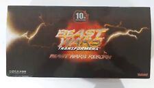Transformers Beast Wars Reborn 10th Anniversary BWR-01 Optimus Primal Megatron