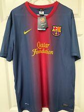 FC Barcelona Nike 2012/2013 Home Jersey Size XL BNWT %100 Original Shirt