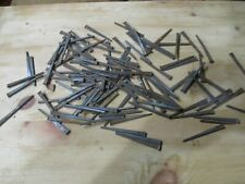 """ANTIQUE SQUARE NAILS--NEVER USED--2 1/2"""" LONG--APPROX 125 NAILS"""