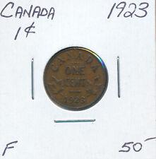 CANADA SMALL CENT GEORGE V 1923 - F