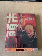 ZATOICHI (2003) Blu Ray Steelbook NEW & SEALED Takeshi Kitano Rare & OOP