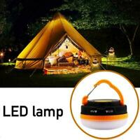 Super Bright Battery Operated Hanging Gazebo Light Lantern Camp LED Best F8A2