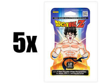 5x DRAGONBALL Z Booster Packs Movie Collection Set DBZ Trading Card Game Panini