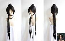 Final Fantasy Lulu Cosplay Wig Animation Cos Wig Hair
