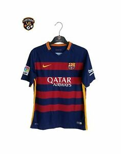 FC Barcelona Football Home Shirt 2015-2016 (XL Youths) Nike Jersey Camiseta