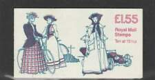 Engeland booklet FR4B MNH 1982 - Woman's Costume / 1880-1900