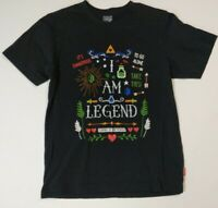 Nintendo Uniqlo UTGP Men Short Sleeve T-Shirt Top LEGEND OF ZELDA-Black-Size M