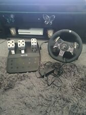 Logitech G920 xbox one and pc steering wheel and pedals. Comes boxed