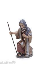 Figura Belen J.L. Mayo (11 cms) - Pastor Adoración con vara - BEL023