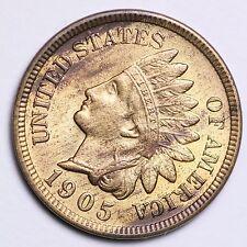 1905 Indian Head Cent Penny CHOICE BU FREE SHIPPING E143 AHT