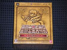 PS3 SAINT SEIYA SENKI Limited GOLDEN CHRONICLE BOX w/Gold Pegasus Cloth JAPAN FS