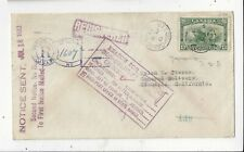 Canada 1932 13c Ottawa on Registered Fdc Cover to Us, Returned Markings