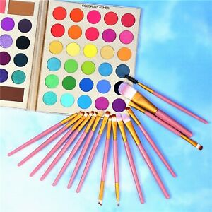 86 Colors Professional  Eyeshadow Palette With 15pcs Makeup Brushes Set