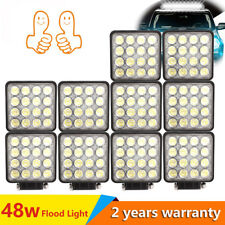 10X 48W LED Faros de trabajo de la luz de Work Light Flood camiòn Làmpara coche