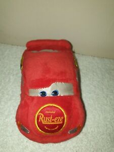 "Disney Cars Lightning McQueen Shuddering Soft Toy Approx 5""."