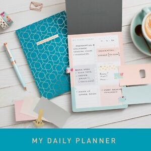 Matilda Myres A5 List Pad - Daily To-Do Pad - Rose Gold - 3 Different Colours