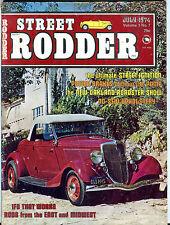 Street Rodder Magazine July 1974 Power Breaks EX 071916jhe
