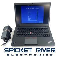 "Lenovo ThinkPad T450S 14"" i5-5300U 2.30GHz 500GB HDD Win10 8GB RAM - READ #50965"