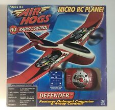 Air Hogs Defender Micro Radio-Controlled Rc Plane by Spin Master - New in Box