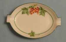 HEREND China BACCI FERE GARDEN BERRY Porcelain RED CURRANT ASHTRAY Trinket Box