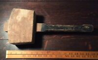 Vintage Collectable Very Large CARPENTER'S WOODEN MALLET