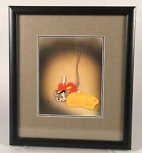 1941 Dumbo Production Cel - Timothy Q. Mouse - Courvoisier Galleries Walt Disney