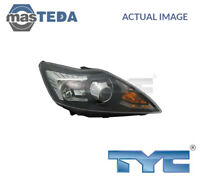 TYC LEFT HEADLIGHT HEADLAMP 20-11966-15-2 G NEW OE REPLACEMENT