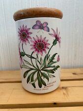 Portmeirion - Botanic Garden - Treasure Flower 🌸 Gazania Ringens Canister
