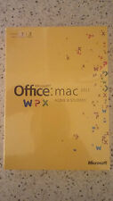 MICROSOFT OFFICE FOR MAC 2011 HOME AND STUDENT FAMILY PACK SEALED