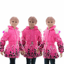 134 Mädchen-Winterjacken mit Kapuze Größe