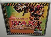DJ RECTANGLE WAX ASSASSIN BRAND NEW SEALED ULTRA RARE CD 100% HIP HOP MIX