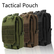 Waterproof Tactical Molle Pouch Belt Waist Fanny Pack Phone Bag Utility  S