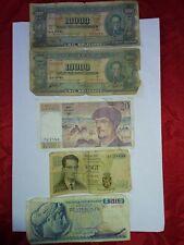 Billets Grèce 50 DRACHMAI 1964, Vingt Francs Banque de France, 10000 Bolivie