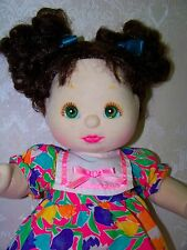 My Child doll by Mattel with lovely green eyes - 1980's dolls