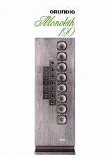 Grundig Bedienungsanleitung für Monolith 190