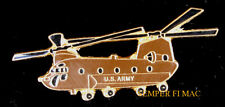 Ch-47 Chinook Hat Lapel Vest Pin Up Us Army Helicopter Pilot Crew Wing Gift Wow