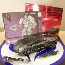 TRANSFORMERS LOCKDOWN 2018 STUDIO SERIES DELUXE CLASS 100% COMPLETE MINT