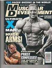 MUSCULAR DEVELOPMENT bodybuilding magazine/GARY STRYDOM 7-06